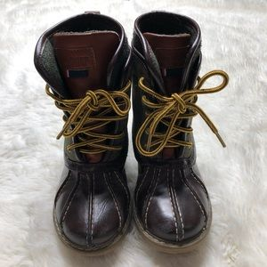 Tommy Hilfiger Lil Charles Duck Boots Size 10